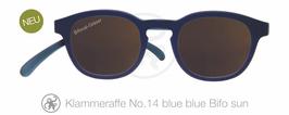 Klammeraffe® No. 14 Sonne-Bifokal blue/blue