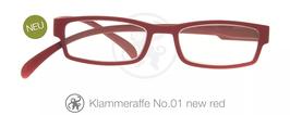 Klammeraffe® No. 01 new red