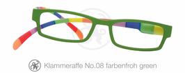Klammeraffe® No. 08 farbenfroh/green