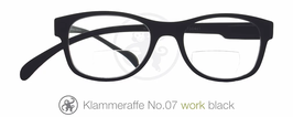 Klammeraffe® No. 07 Bifo Work black