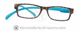Klammeraffe® No. 06 havanna/türkis