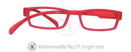 Klammeraffe® No. 01 bright red