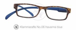 Klammeraffe® No. 06 havanna/blue
