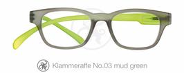 Klammeraffe® No. 03 mud/green new