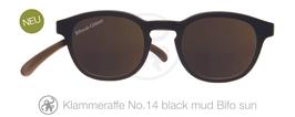 Klammeraffe® No. 14 Sonne-Bifokal black/mud