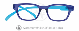 Klammeraffe® No. 03 blue/türkis