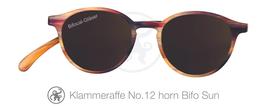 Klammeraffe® No. 12 Bifokal-Sonne horn