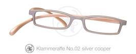 Klammeraffe® No. 02 silver/copper