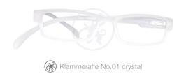 Klammeraffe® No. 01 crystal matt