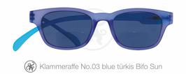 Klammeraffe® No. 03 Sonne-Bifokal blue/türkis