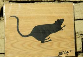BLEK LE RAT // RAT STENCIL