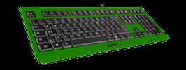 Irish Luck (schwarz) - OliWooD USB Tastatur