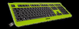Lime Green (schwarz) - OliWooD Funk Tastatur