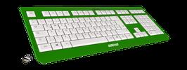 Irish Luck (weiß) - OliWooD Funk Tastatur