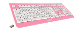 Frozen Raspberry (weiß) - OliWooD Funk Tastatur
