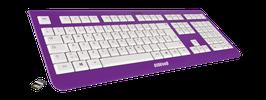 Purple Rain (weiß) - OliWooD Funk Tastatur