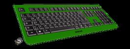 Irish Luck (schwarz) - OliWooD Funk Tastatur