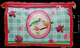Birds & Roses - Kulturtasche