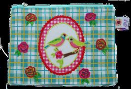 Birds & Roses - Kosmetiktäschchen