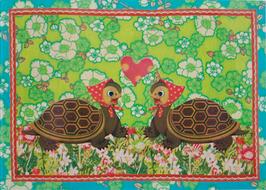 Schildkröten - Postkarte