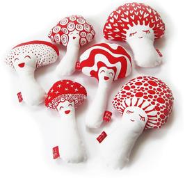 Pilzfamilie - DIY Näh Set