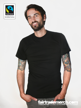 fairtrademerch Shirts, FTM 01 schwarz