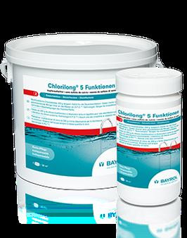 Chlorilong® 5 Funktionen Chlortablette – kupfersulfatfrei