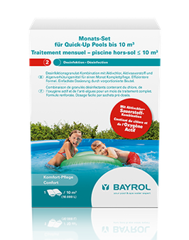Monatsset Quick-Up Pool bis 10 m³