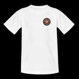 T-Shirt White mit SG Bergische Löwen Logo und Wunschnamen