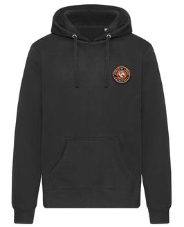 Hoody Black mit SG Bergische Löwen Logo und Wunschnamen