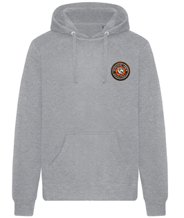 Hoody Grey mit SG Bergische Löwen Logo und Wunschnamen
