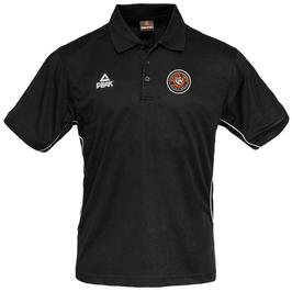 PEAK Performance Polo Black mit SG Bergische Löwen Logo