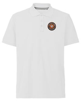 Poloshirt White aus 100% Baumwolle mit SG Bergische Löwen Logo
