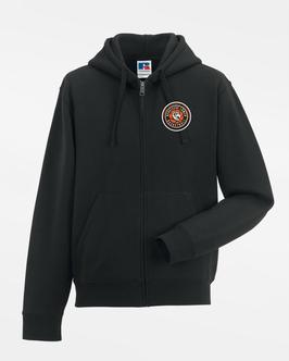 Zip-Hoody Black mit SG Bergische Löwen Logo und Spielernamen