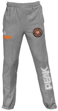 PEAK Sweatpants Grey mit Bergische Löwen Logo und Wunschnamen