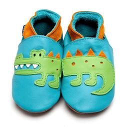 Inch Blue Krabbelschuhe Krokodil türkis