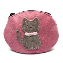 Inch Blue Geldbörse Katze rosa
