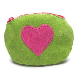 Inch Blue Geldbörse Herz grün