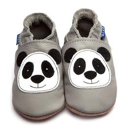 Inch Blue Krabbelschuhe Panda grau