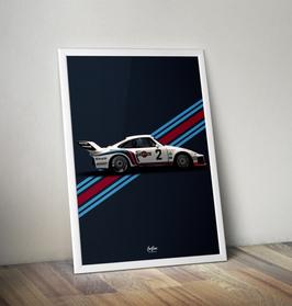 Poster: Porsche 935 Martini