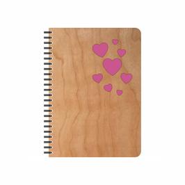 Notizbuch Herzen