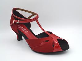DALIA 74/47 Rot Damen Tanzschuhe