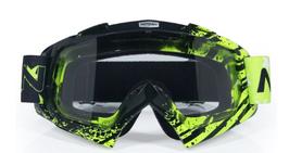 Motorcross bril spray green