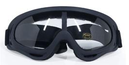 Motor bril clear lens