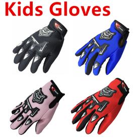 Motor sport handschoenen kinderen in diverse kleuren