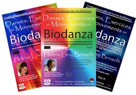 """4 DVD - Danses, Exercices et Mouvements en Biodanza """"Système Rolando Toro""""  Série COMPLÈTE  + Version Numérique"""