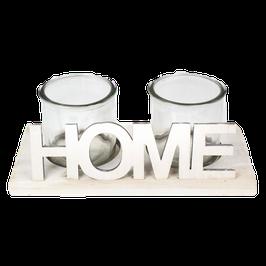 Teelichthalter Home