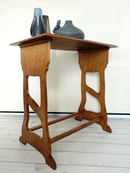 Antiker Jugendstil Tisch Beistelltisch Vollholz um 1910