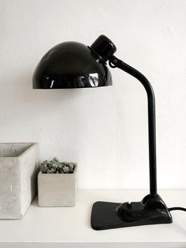 Bauhaus Arbeitsleuchte Schreibtisch Lampe HALA um 1920