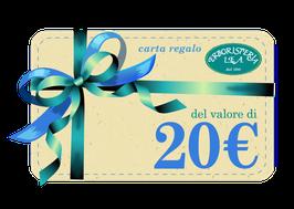 Carta regalo di 20€